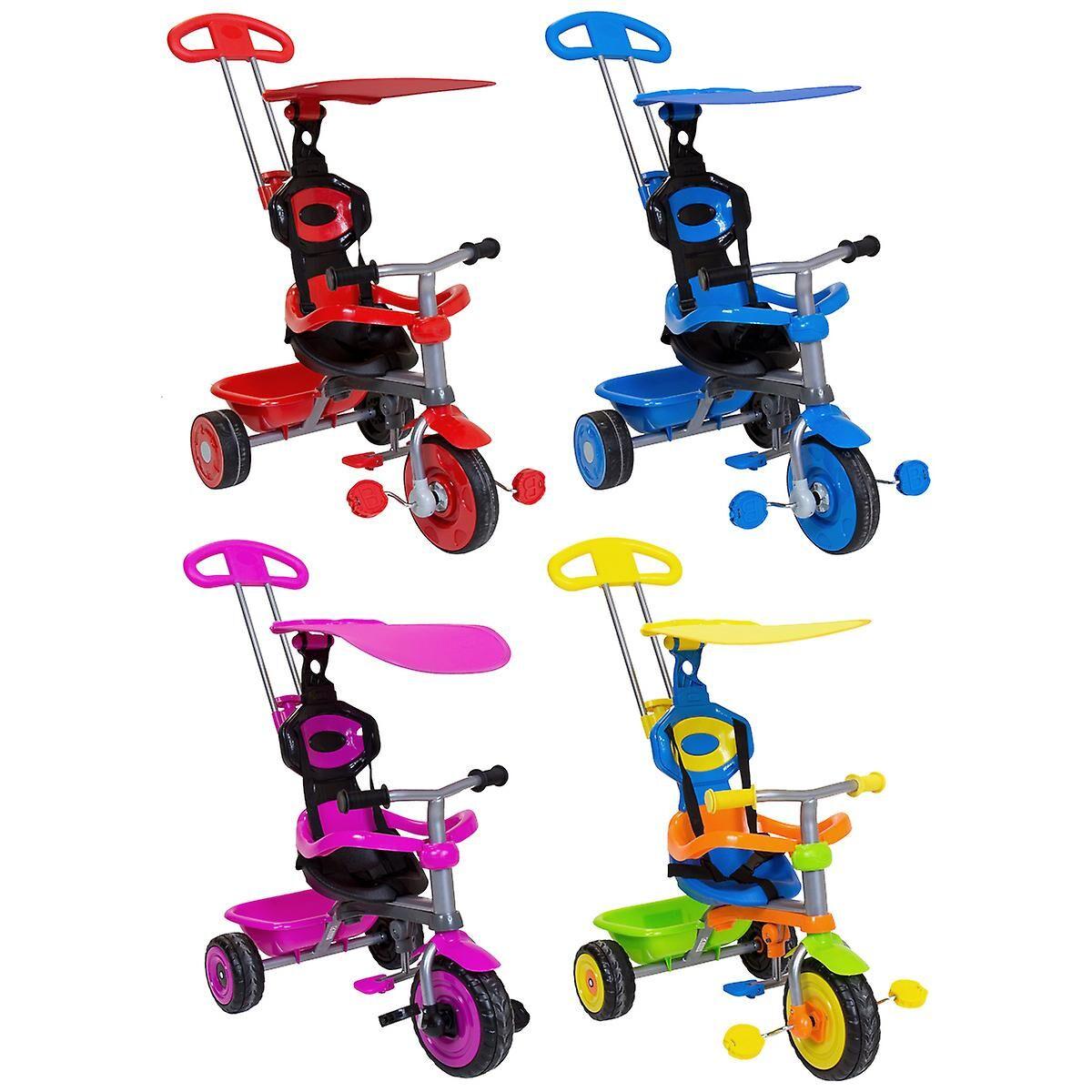 Charles Bentley Kids Trike Star avec auvent et garde de sécurité 4 ...