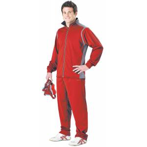 Cliff Keen All American Wrestling warm-up costume - Scarlet/Gray Rouge/gris S