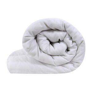 Linens and Lace Lins and Lace Unisex 15 Tog Duvet Home Bedroom Bedding Hollow Fibre Fill Blanc King - Publicité