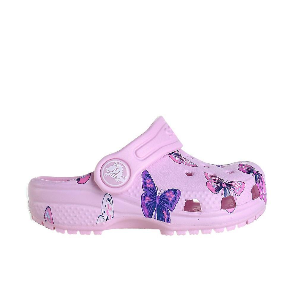 Crocs Classic Clog 2064146GD chaussures universelles pour enfants d'été Rose 2 Kid UK / 2 US / 33 EUR / 21 cm