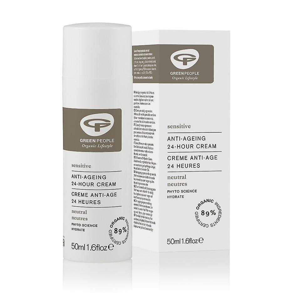 Greenpeople Gens verts, parfum neutre libre 24hr crème, 50ml