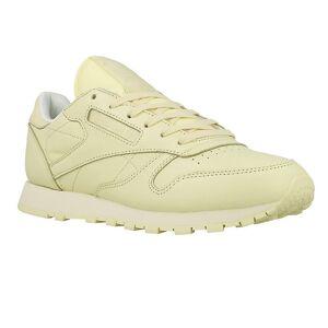 Reebok CL Lthr Pastels BD2772 universel toutes les chaussures de femmes de l'année blanc/beige 6.5 UK / 9 US / 40 EUR / 26 cm