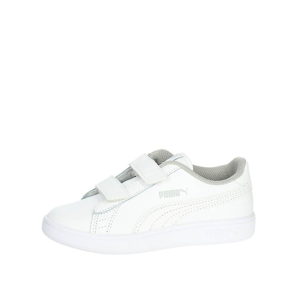 Puma Smash V2 Cuir 36517302 universel toute l'année chaussures pour enfants blanc 1 Kid UK / 2 US / 33 EUR / 20 cm