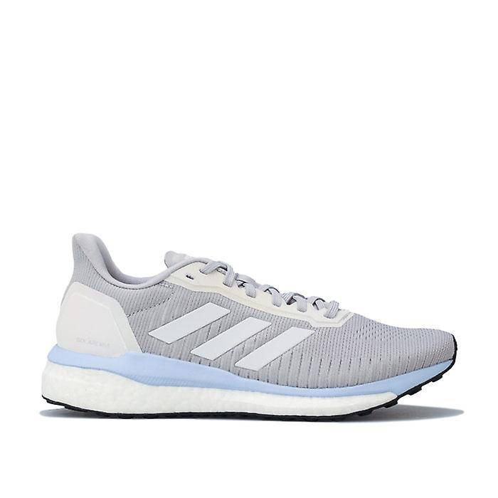 Adidas Femmes's adidas Solar Drive 19 Running Shoes in Grey Gris clair UK 5.5