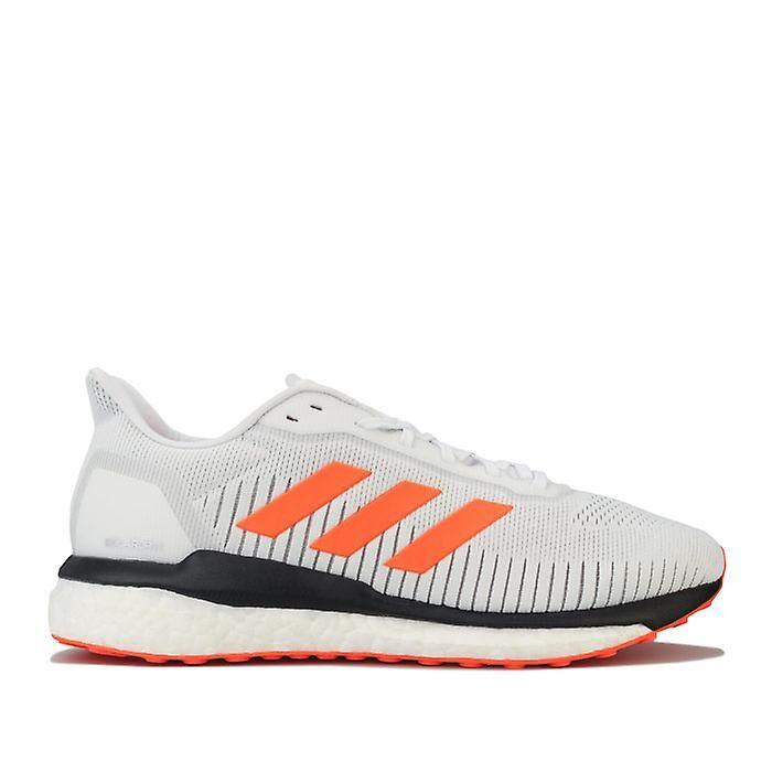 Adidas Men's adidas Solar Drive 19 Running Shoes en blanc blanc orange UK 8.5