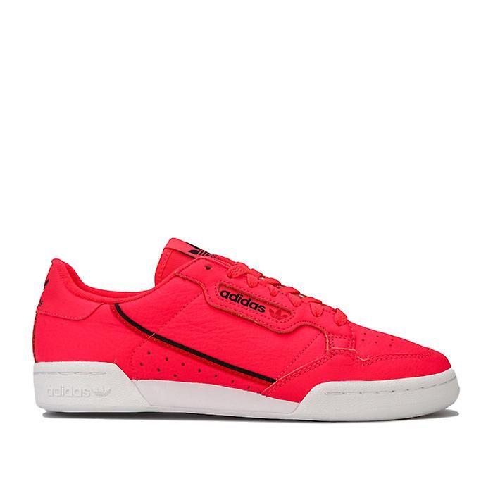 Adidas Men's adidas Originals Continental 80 Trainers en rouge UK 5.5