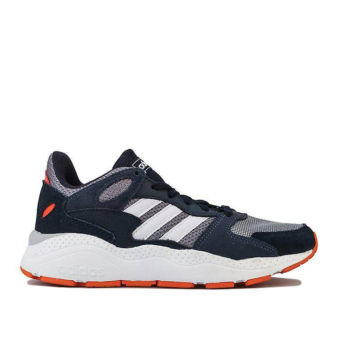 Adidas Boy-apos;s adidas Junior Crazy Chaos Trainers en gris UK 5