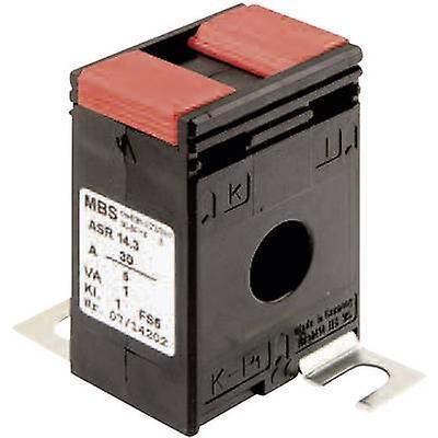 MBS ASR 14.3 30/5A 1VA Kl.3 Stromwandler Courant primaire:30 Un courant secondaire:5 A Ligne de diamètre d'alimentation:14 mm