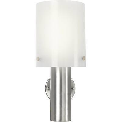 Renkforce Mur extérieur Renkforce Torrent HY0002AUP-6 LED light 10,5 W blanc chaud Silver