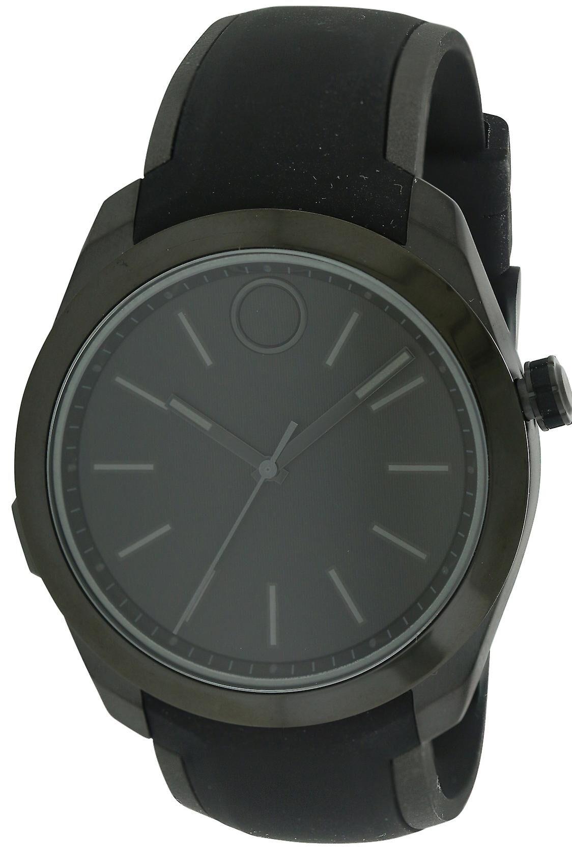 Movado Bold noir inox Smartwatch Mens Watch 3660002