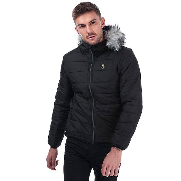 Luke 1977 Men-apos;s Luke 1977 South Far Bubble Jacket en noir 2XL