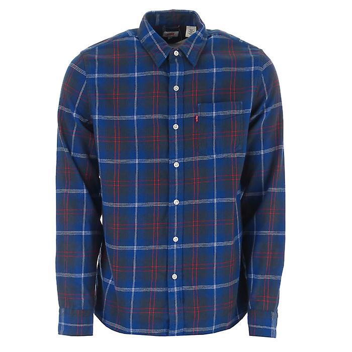 Levis Chemise de poche de coucher du soleil de Men-apos;s Levis en bleu Marine