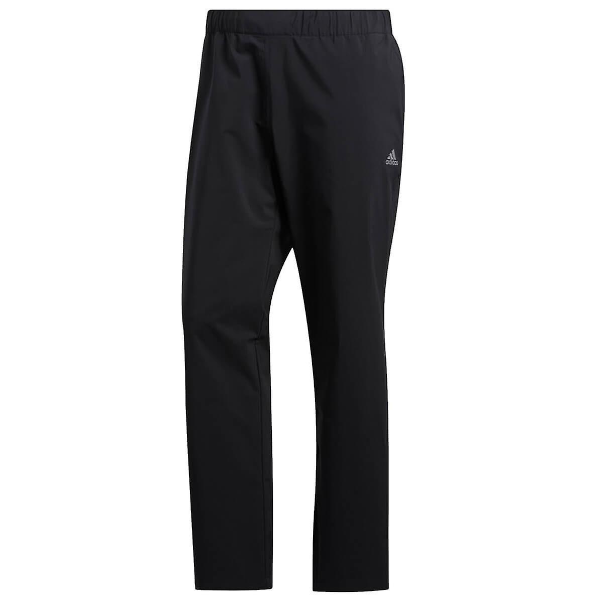 adidas Golf Mens 2020 Pantalon répulsif provisoire d'eau de pluie Noir S/L