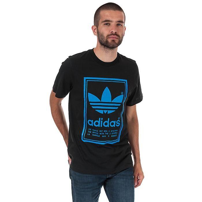 Adidas Men's adidas Originals Vintage T-Shirt en noir XS