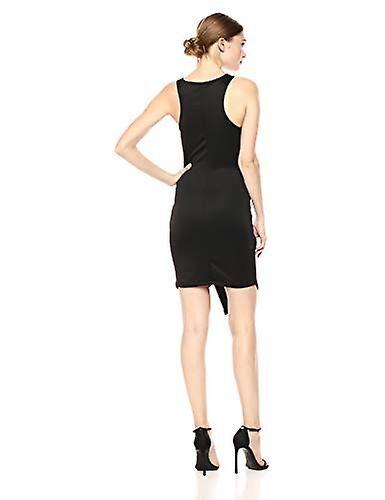 Lyss Loo Femmes et apos; s Rock et Ready Sleeveless Body-Con, Black, Large Beige Large US /