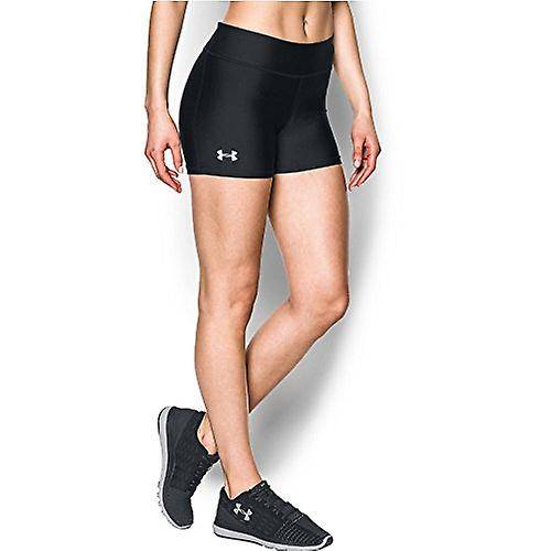 Under Armour Womens On The Court 4-quot; Shorts,Black/White, X-Small Noir X-Small US /