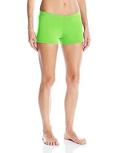 Gia Mia Dance Women-apos;s Short Boy Cut Yoga Jazz Hip Hop Costume Performance Tea... Vert Medium US /