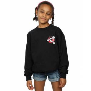 Absolute Cult Disney Girls Mickey Mouse Dunking Sweatshirt Blanc 3-4 Years - Publicité