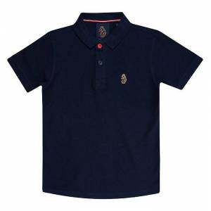 Luke 1977 Boy-apos;s Luke 1977 Junior Wiliams Polo Shirt en bleu Marine 8-9 - Publicité