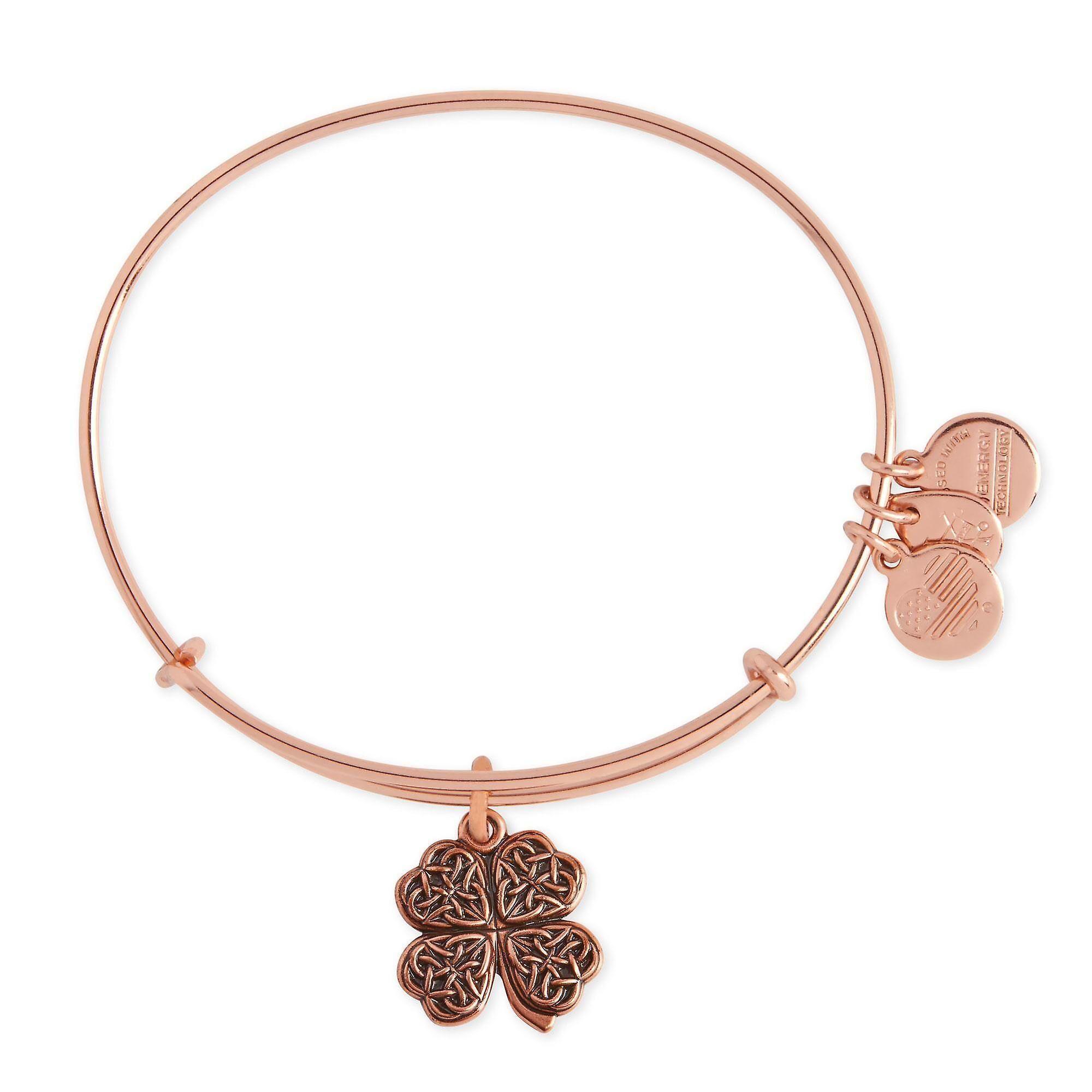 Alex and Ani Alex et Ani Four Leaf Clover charme Bracelet jonc - A1...
