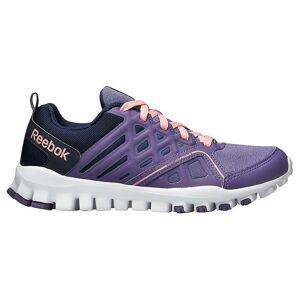 Reebok Realflex Train 30 V63239 universal Skate shoes enfant toute l'année Violet/bleu/navy 4 Kid UK / 4.5 US / 36 EUR / 23 cm