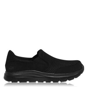 Skechers Chaussures Skechers Mens McAllen SR Slip On Mesh Casual Suumer Commerable Shoes Noir UK 10 - Publicité