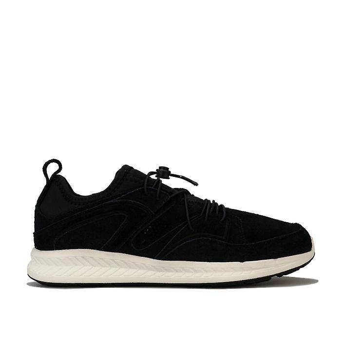 Puma Men-apos;s Puma Blaze Ignite Suede Trainers en noir UK 6.5