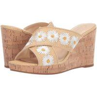 Jessica Simpson Womens Leather Open Toe Casual Platform Sandals Blanc 11 US / 9 UK <br /><b>38.95 EUR</b> Fruugo.fr