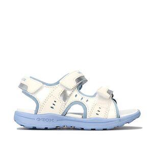 Geox Sandales Brandiett pour enfants De Geox en blanc Ciel blanc UK 1.5 - Publicité