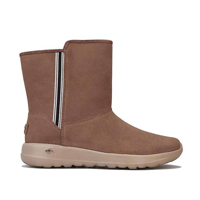 Skechers Femmes-apos;s Skechers On The Go Joy Cadet Boots in Brown Taupe UK 4