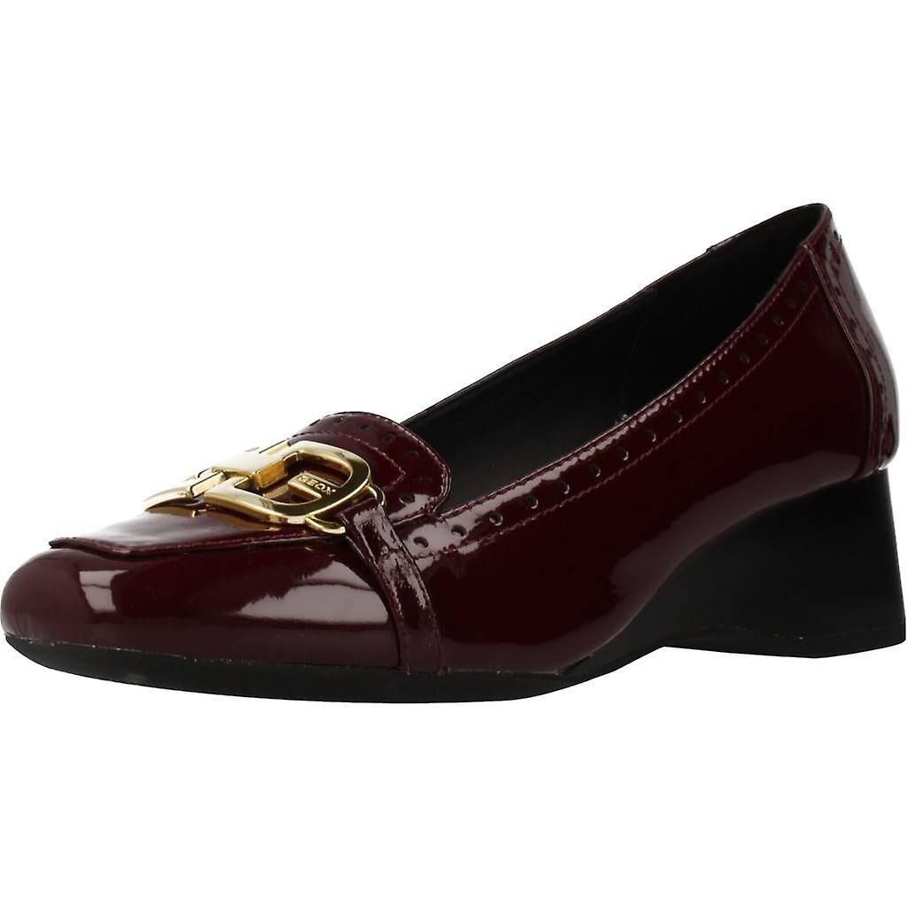 Geox Chaussures Geox Casual D Audalya Couleur C7005 Bordeaux EU 35