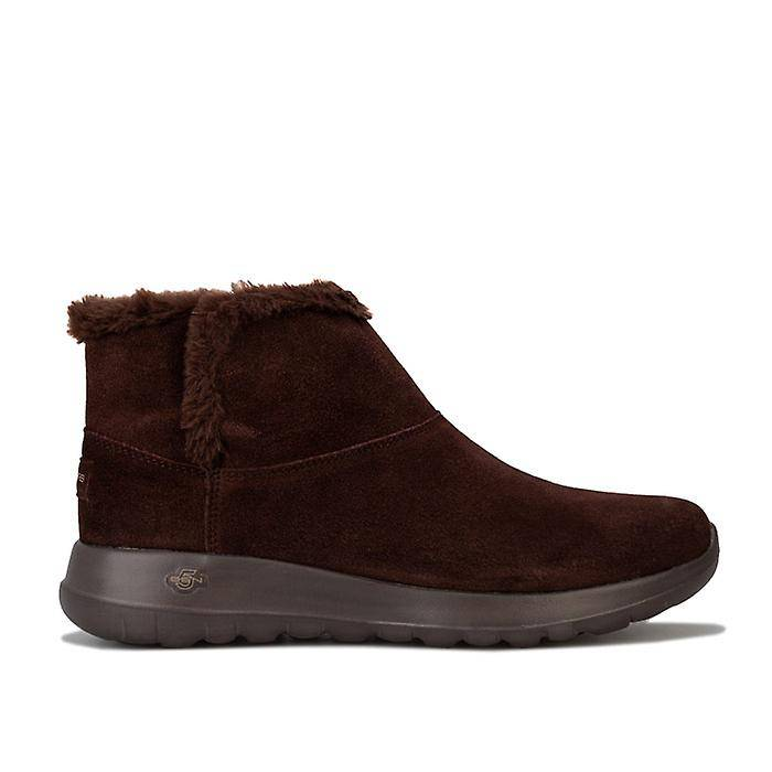 Skechers Femmes-apos;s Skechers On The Go Joy Bundle Up Boots in Brown Chocolat UK 7