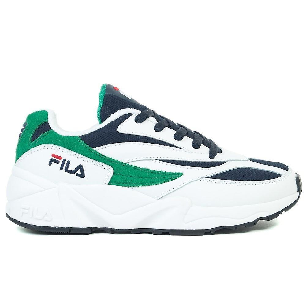 Fila V94M Low Wmn 10129100Q universal toute l'année chaussures pour femmes blanc/marine/vert 10 US / 41 EUR / 26.5 cm
