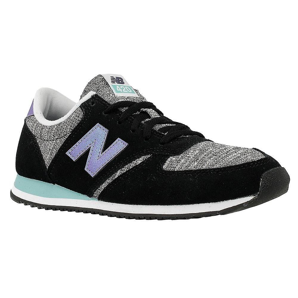 New Balance Nouveau solde B 10 WL420KIC universel toutes les chaussures de femmes de l'année Violet/noir/gris 3.5 UK / 5.5 US / 36 EUR / 22.5 cm