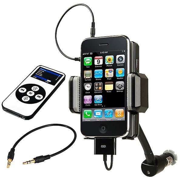 TRIXES Kit de voiture Transmetteur FM TRIXES avec chargeur pour Apple iPho...
