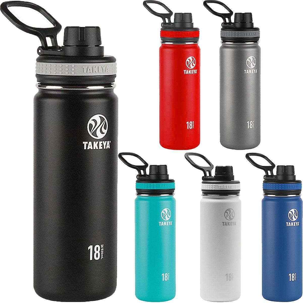 Takeya Bouteille d'eau en acier inoxydable isotherme 18 oz Takeya originaux