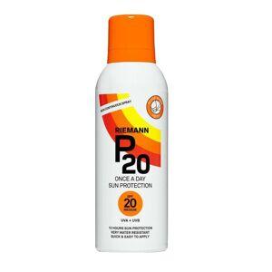 Riemann P20 Une fois par jour protection solaire Résistance à l'eau+ 150ml SPF20 Protection moyenne - Publicité