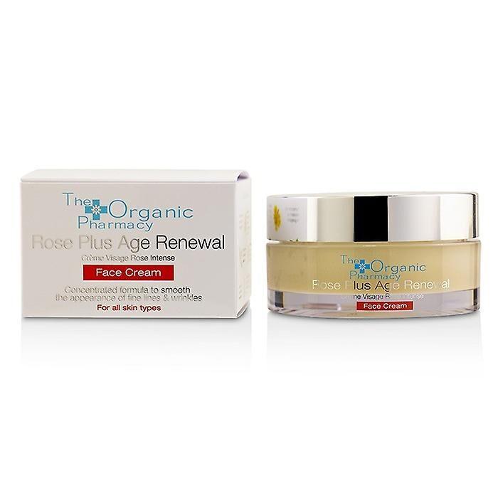 The Organic Pharmacy La pharmacie bio Rose Plus Age renouveau Face Cream 50ml/1.69 oz