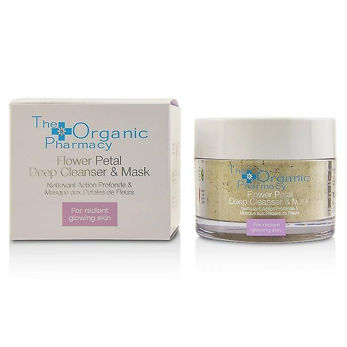 The Organic Pharmacy La pharmacie bio fleur pétale nettoyant profon...