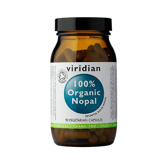 Viridian Organic Nopal, 90 VegCaps