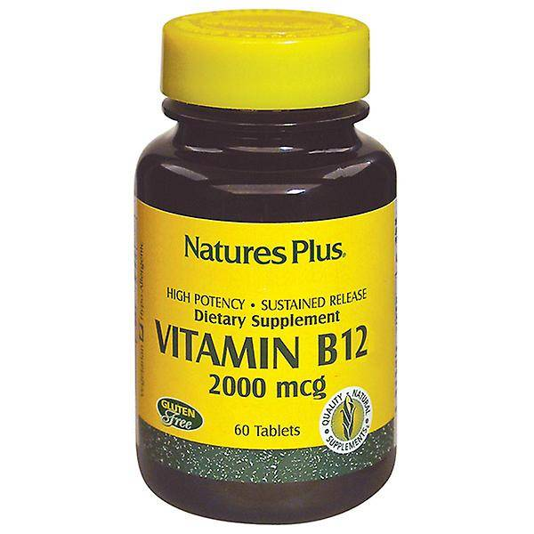 Nature's Plus Natures Plus Vitamine B-12 2000mcg 60 comprimés