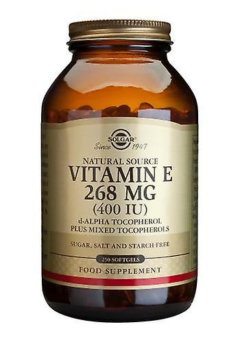 Solgar vitamine E 268 mg (400UI) mélangé capsules, 250