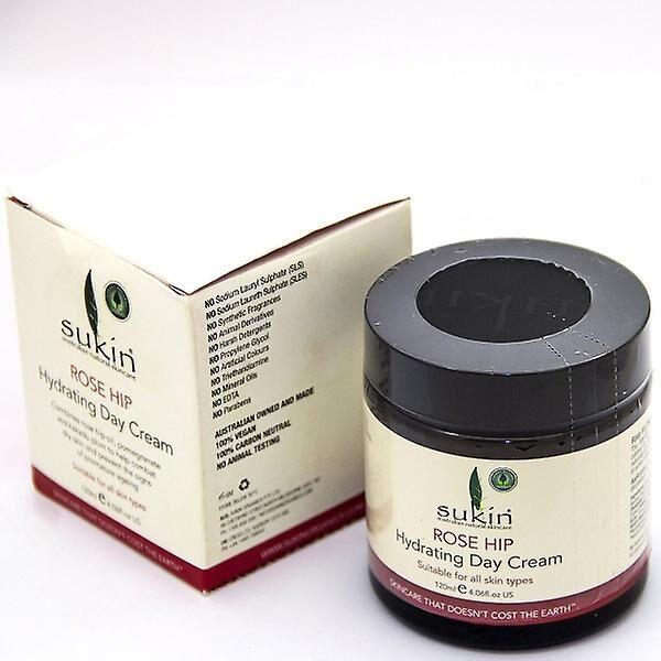 Sukin Vandenameel hydratant rose musquée crème de jour, 120ml