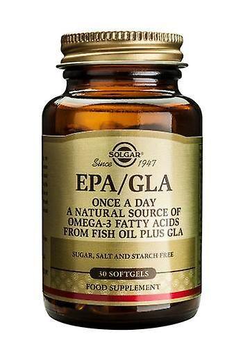 Solgar un jour EPA/GLA gélules, 30