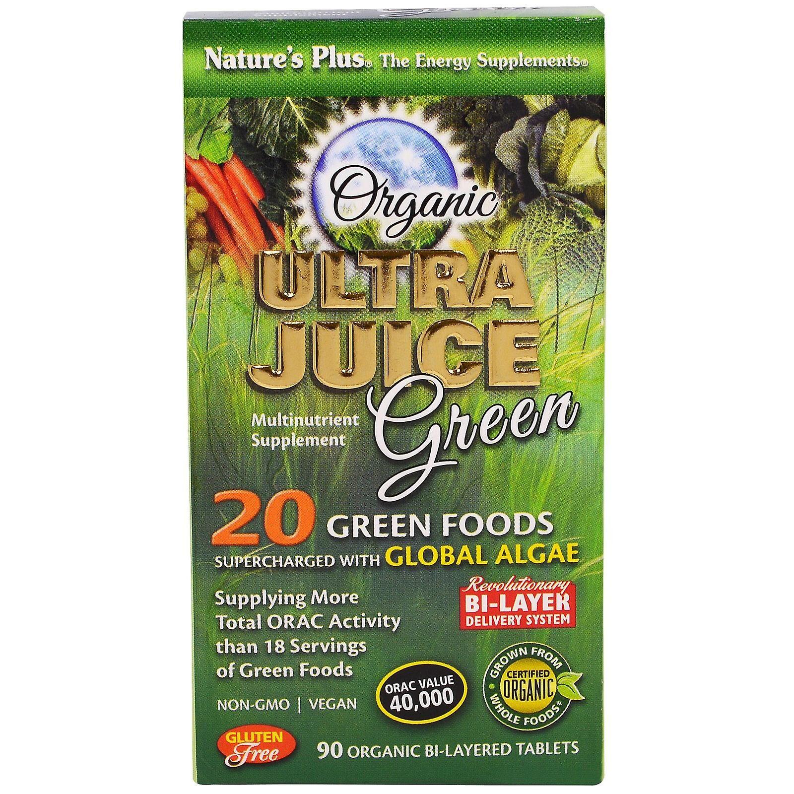 Nature's Plus Natures Plus ULTRA jus vert comprimés 90