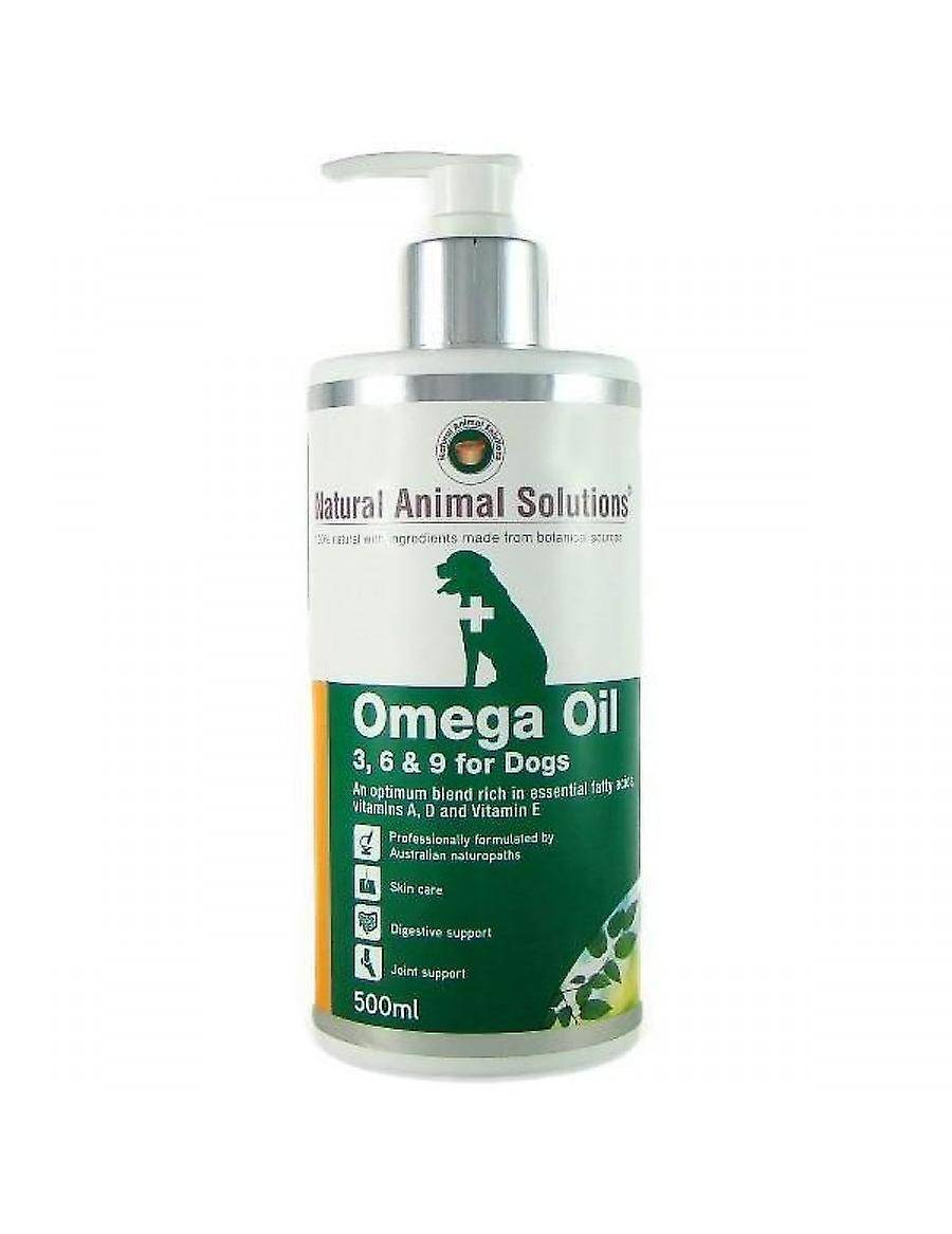 Natural Animal Solutions NAS l'huile Omega 3, 6 et 9 pour chiens, 500 ml
