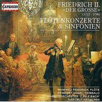 CAPRICCIO Frédéric le grand - Friedrich II Der Grosse: importation USA Fl Tenkonzerte & Sinfonien [CD] <br /><b>21.95 EUR</b> Fruugo.fr