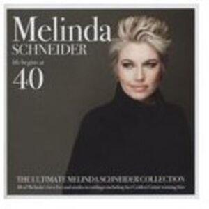 Unbranded Melinda Schneider - la vie commence à 40 import USA [CD] - Publicité