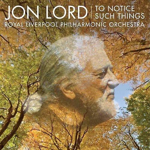 AVIE Jon Lord - Jon Lord: To avis Such Things [CD] USA import
