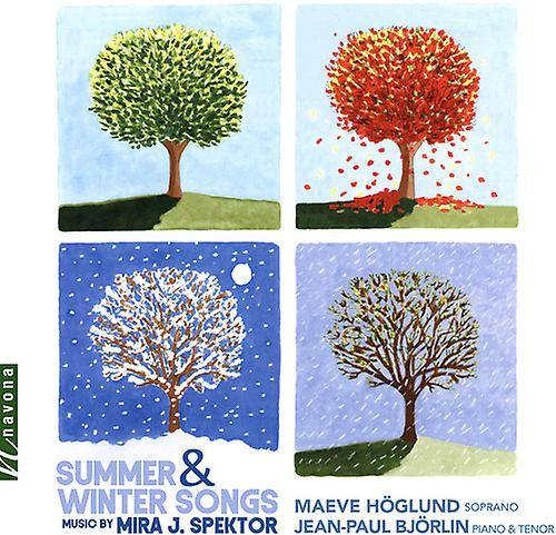 NAVONA RECORDS Summer & Winter Songs [CD] Usa import